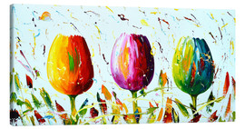 Lienzo  Tulips Light - Theheartofart Gena