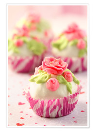 Póster  Lovely Cupcakes