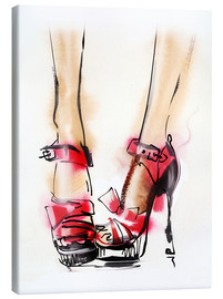 Lienzo  Red High Heels