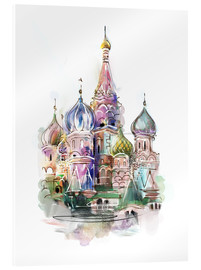 Metacrilato  St. Basil's Cathedral