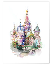 Póster  St. Basil's Cathedral