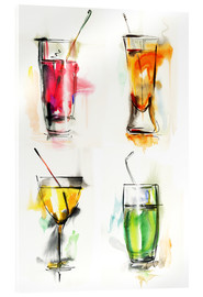 Metacrilato  Colorful drinks