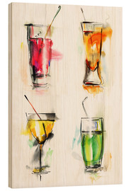 Madera  Colorful drinks