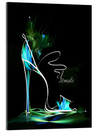 Metacrilato  Blacklight High Heel