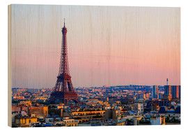 Madera  Eiffel Tower in the evening, Paris