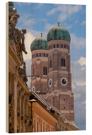 Madera  Frauenkirche in Munich