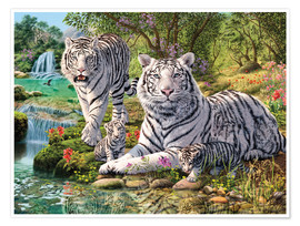 Póster White Tiger Clan