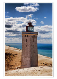 Póster  Danish Lighthouse