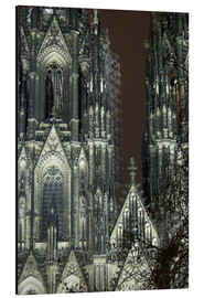 Aluminio-Dibond  Detail of Cologne Cathedral