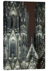 Lienzo  Detail of Cologne Cathedral