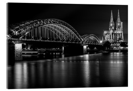 Metacrilato  Cologne Cathedral and bridge