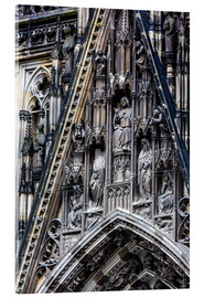 Metacrilato  Facades detail at Cologne Cathedral