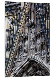 Cuadro de PVC  Facades detail at Cologne Cathedral