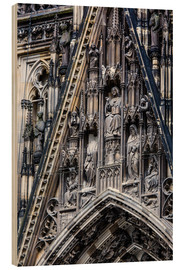 Facades detail at Cologne Cathedral
