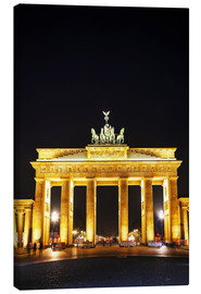 Lienzo  Brandenburg gate (Brandenburger Tor) in Berlin