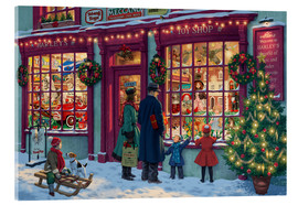 Metacrilato  Toy Shop at Christmas - Steve Read