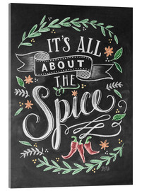 Cuadro de metacrilato  It's all about the Spice - Lily & Val