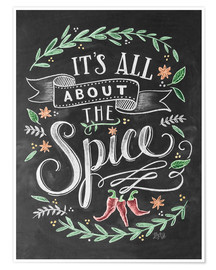 Póster  It's all about the Spice - Lily & Val