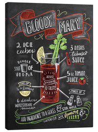 Lienzo  Bloody Mary recipe - Lily & Val