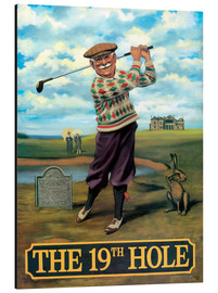 Cuadro de aluminio  The 19th Hole - Peter Green's Pub Signs Collection