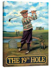 Lienzo  27107 The 19th Hole - Peter Green's Pub Signs Collection