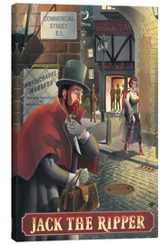 Lienzo  27105 Jack the Ripper - Peter Green's Pub Signs Collection