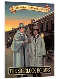 Cuadro de PVC  The Sherlock Holmes - Peter Green's Pub Signs Collection