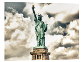 Cuadro de metacrilato  Statue of Liberty - symbol of New York