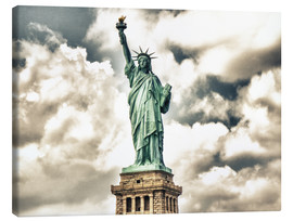 Lienzo  Statue of Liberty - symbol of New York