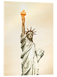 Cuadro de metacrilato  Liberty Statue in New York, USA
