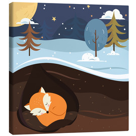 Lienzo  Resting Fox - Kidz Collection