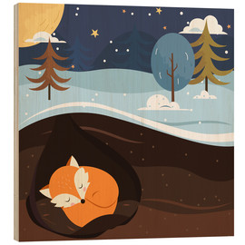 Madera  Resting Fox - Kidz Collection