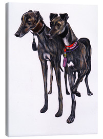Lienzo  Galgos - Jim Griffiths