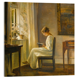 Metacrilato  woman reading - Carl Holsoe