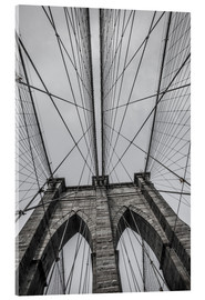 Cuadro de metacrilato  Brooklyn Bridge in New York