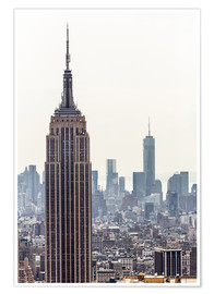 Póster New York City - Empire State building