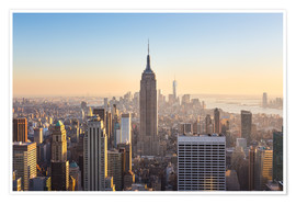 Póster Vista de Manhattan