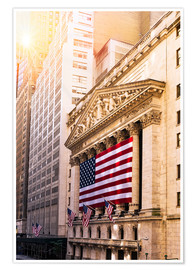 Póster  New York Stock Exchange