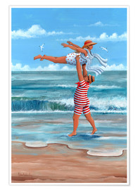 Póster  Dirty Dancing en la playa - Peter Adderley