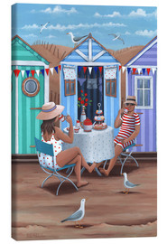 Lienzo  26242 Beach Huts Afternoon Tease (Variant 1) - Peter Adderley