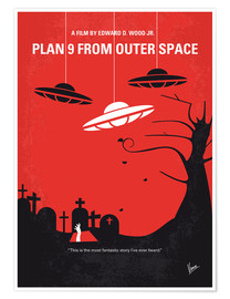 Póster Plan 9 From Outer Space