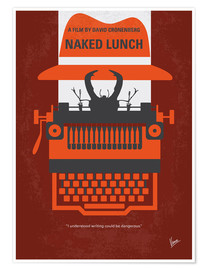 Póster Naked Lunch