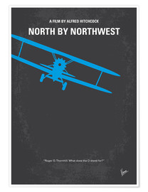 Póster North By Northwest