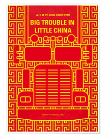 Póster Big Trouble In Little China