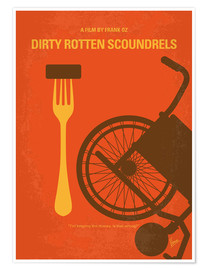 Póster Dirty Rotten Scoundrels