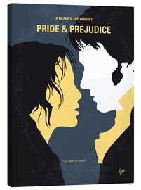 Lienzo  No584 My Pride and Prejudice minimal movie poster - chungkong