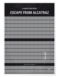 Póster  Escape From Alcatraz - chungkong