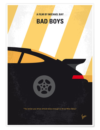 Póster Bad Boys