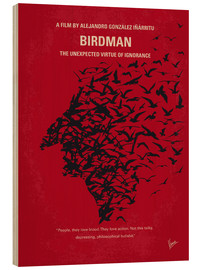 Madera  No604 My Birdman minimal movie poster - chungkong