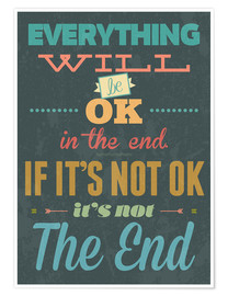 Póster Everything will be ok